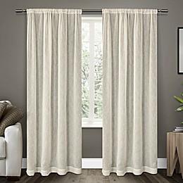 Belgian Rod Pocket Sheer Window Curtain Panel Pair