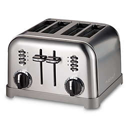 Cuisinart® 4-Slice Toaster in Stainless Steel