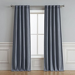 Astrid 2-Pack Rod Pocket/Back Tab Room Darkening Window Curtain