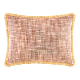 Tommy Bahama® Sunrise Stripe Burnt Oblong Throw Pillow in Coral
