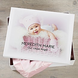 Personalized Baby Photo Keepsake Memory Box