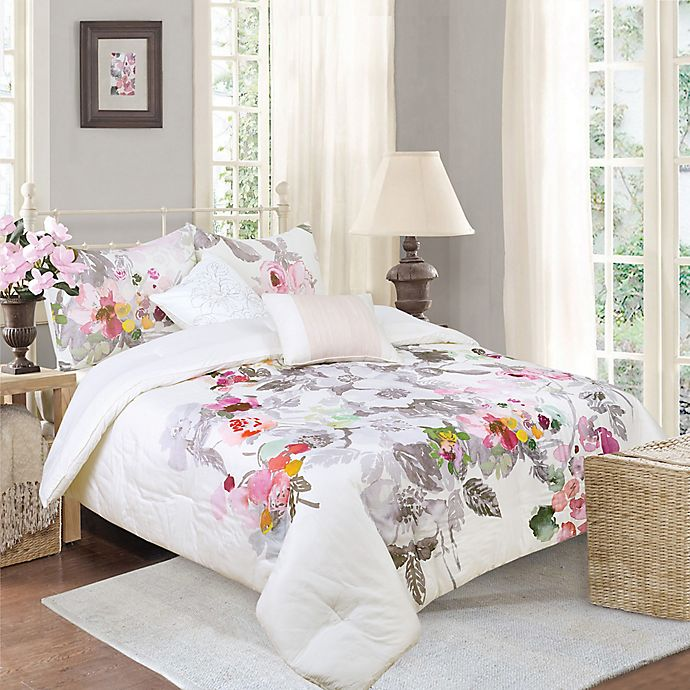 Alternate image 1 for Brighton 5-Piece Reversible Full/Queen Comforter Set
