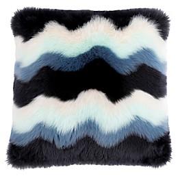 UGG® Laguna Square Throw Pillow in Denim