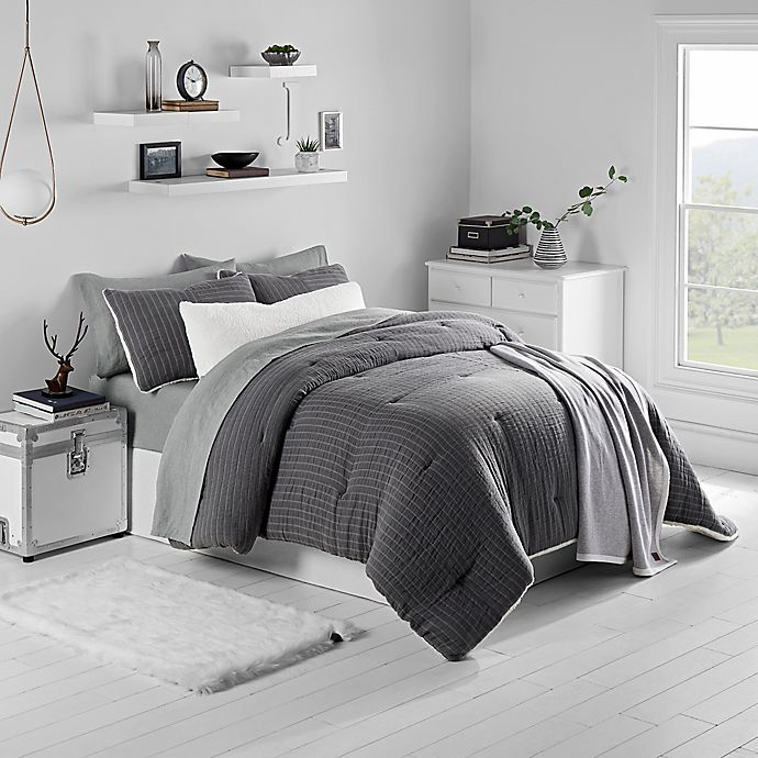 Alternate image 1 for UGG® Harley 3-Piece Reversible Comforter Set