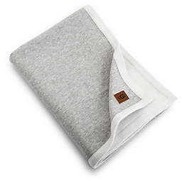 UGG® Bryce Reversible Jersey Knit Throw Blanket in Seal