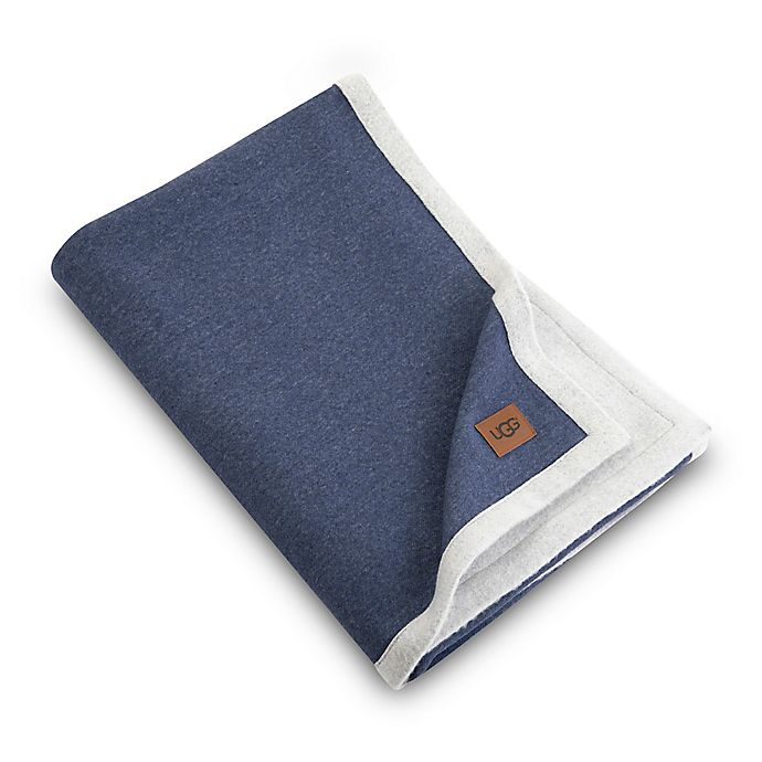 Alternate image 1 for UGG® Bryce Reversible Jersey Knit Throw Blanket