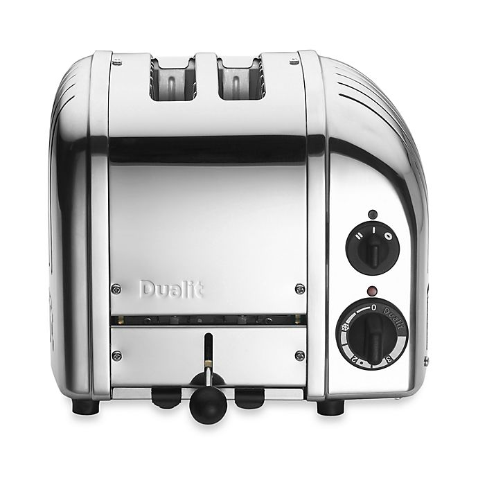 Alternate image 1 for Dualit® 2-Slice Chrome Toaster