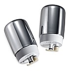 Brita® On Tap 2-Pack Chrome Faucet Filters