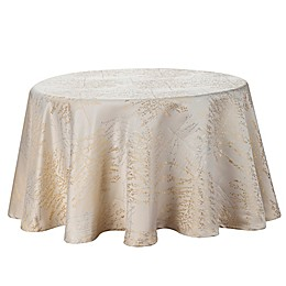 Waterford® Linens Timber Round Tablecloth