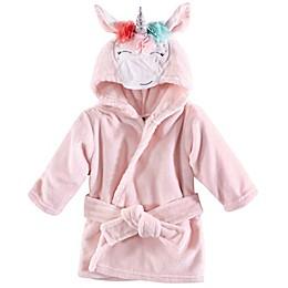 Hudson Baby® Unicorn Bathrobe in Pink