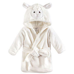 Luvable Friends® Size 0-9M Lamb Bathrobe in White