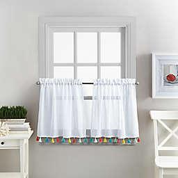 Coastal Living® Boho Tassel Window Curtain Tier Pair
