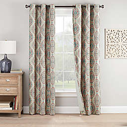 Eclipse Bari 2-Pack Grommet Window Curtain Panels
