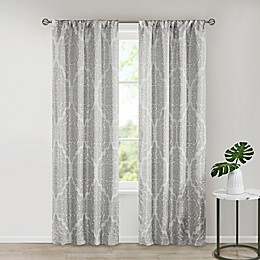 SALT™ Royce 2-Pack Rod Pocket Room Darkening Window Curtain Panels
