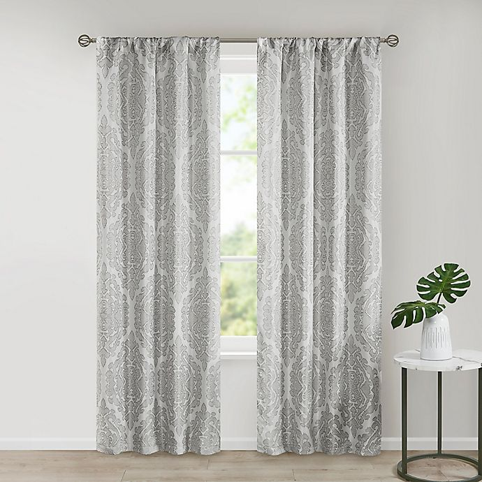 Alternate image 1 for SALT™ Royce 2-Pack Rod Pocket Room Darkening Window Curtain Panels
