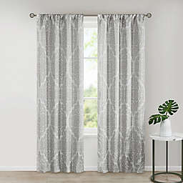 SALT™ Royce 2-Pack Rod Pocket Room Darkening Window Curtain Panels
