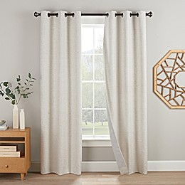 Eclipse Duvall 2-Pack Grommet Blackout Window Curtain Panels