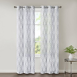 SALT™ Corwin 2-Pack Grommet Sheer Window Curtain Panels
