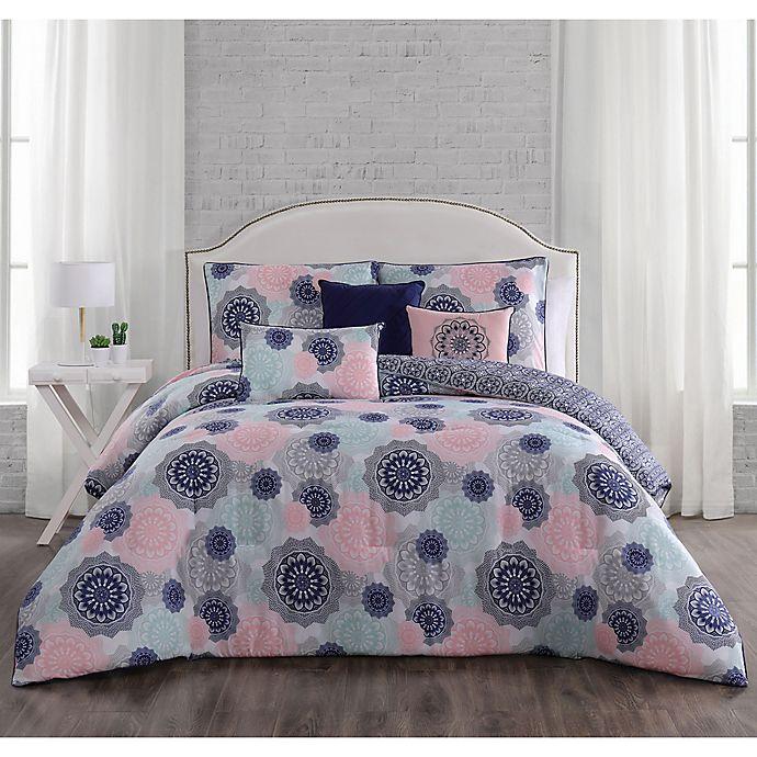 Alternate image 1 for Lorna Reversible Comforter Set