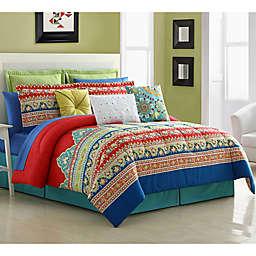 Fiesta® Mariposa Reversible Comforter Set