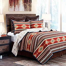 HiEnd Accents Del Sol Reversible Quilt Set