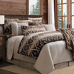 HiEnd Accents Aztec Chalet 3-Piece Reversible Comforter Set