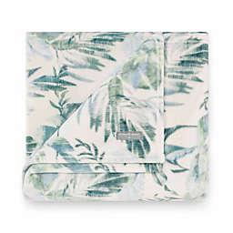 Tommy Bahama® Wallpaper Leaves Castaway Ultra Soft Plush Throw