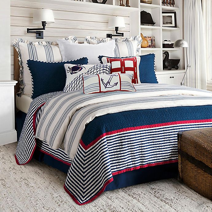Alternate image 1 for HiEnd Accents Liberty Reversible Quilt Set