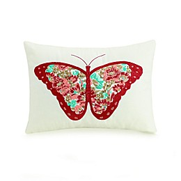 Mary Jane's Home Butterfly Oblong Throw Pillow