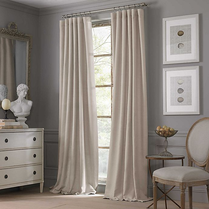 Alternate image 1 for Valeron Estate Cotton Linen Window Curtain Panel