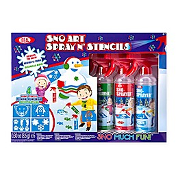 Ideal® Sno Toys Art Spray N' Stencil Kit