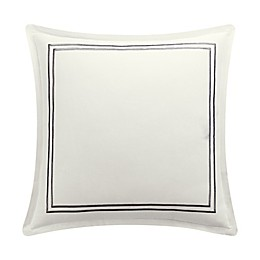 Bridge Street Zoe European Pillow Sham in Ivory