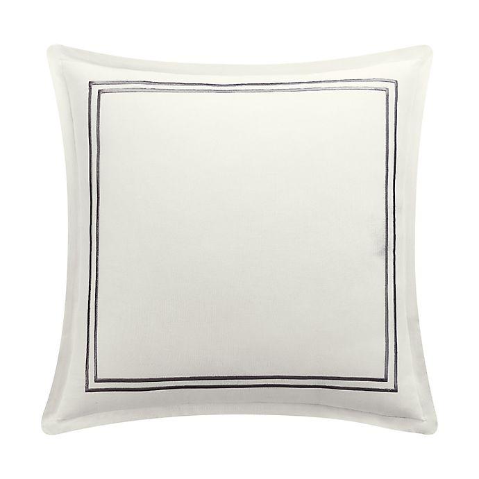 Alternate image 1 for Bridge Street Zoe European Pillow Sham in Ivory