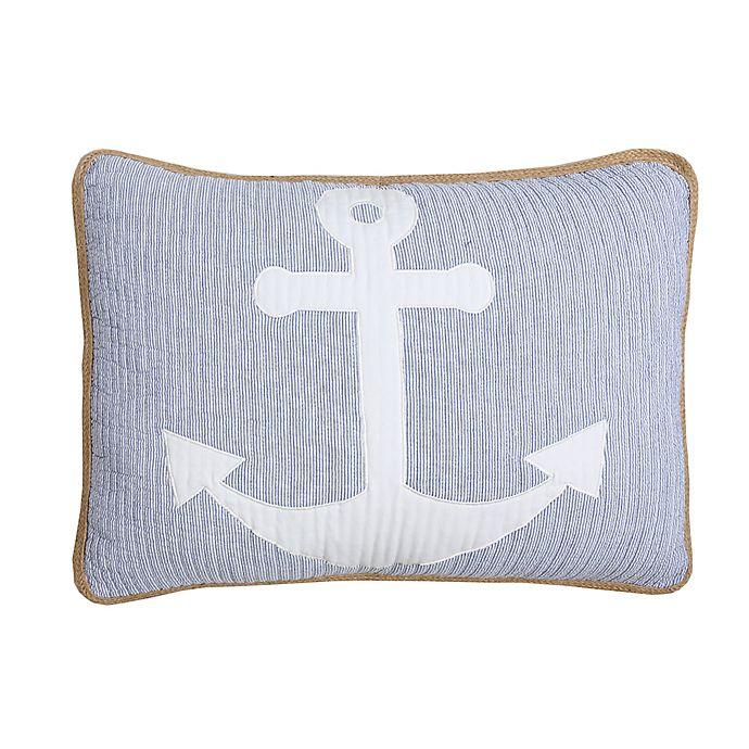 Alternate image 1 for Balboa Standard Pillow Sham in Blue