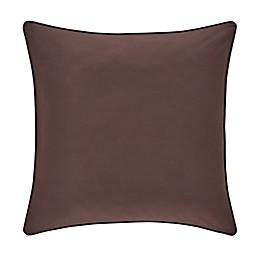 J. Queen New York™ Okemo European Pillow Sham in Chocolate