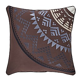 J. Queen New York™ Okemo Medallion Throw Pillow in Chocolate