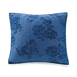 Bee & Willow Home™ Crystal Rose European Pillow Sham in Denim Blue