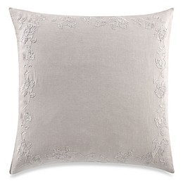 Wamsutta® Vintage Floral Embroidery European Pillow Sham in Fog