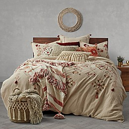 Tassel Embroidery Duvet Cover