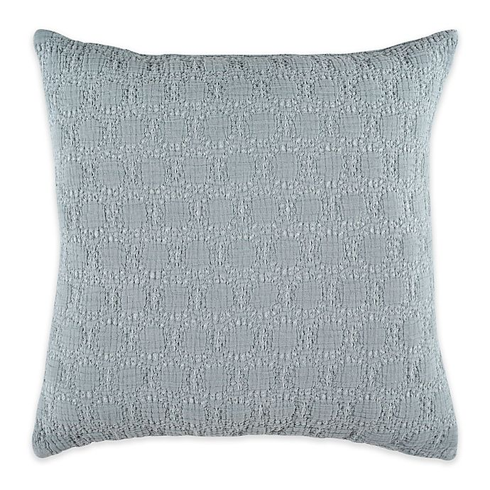 Alternate image 1 for Bridge Street Almina Square Throw Pillow in Seafoam