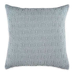 Bridge Street Almina Square Throw Pillow in Seafoam