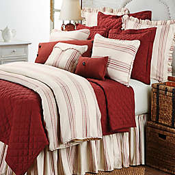 HiEnd Accents Prescott Stripe Reversible Duvet Cover