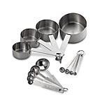 Baker's Dozen 13-Piece Measuring Cups and Spoons Set