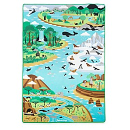 Melissa & Doug® Jumbo Habitats Activity Rug