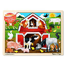 Melissa & Doug® Barnyard 24-Piece Jigsaw Puzzle