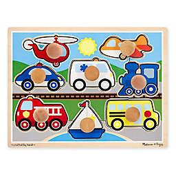 Melissa & Doug® Vehicles 8-Piece Jumbo Knob Puzzle