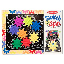 Melissa & Doug® Switch & Spin Magnetic Gear Board