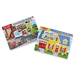 Melissa & Doug® Sound Wooden Puzzles (Set of 2)
