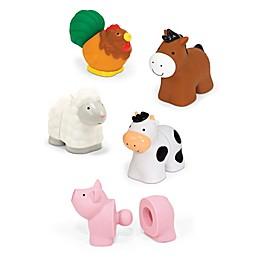 Melissa & Doug® 10-Piece Pop Bloc Farm Animals 3D Puzzle