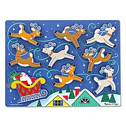 Melissa & Doug® 9-Piece Santa's Sleigh Chunky Puzzle
